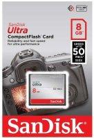 Карта памяти SanDisk Ultra CompactFlash 8Gb (SDCFHS-008G-G46)