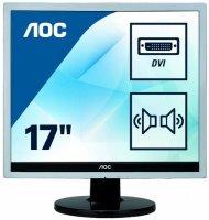 Монитор AOC E719SDA Silver/Black