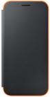 Чехол Samsung Neon Flip Cover для Galaxy A3 2017 Black (EF-FA320PBEGRU)