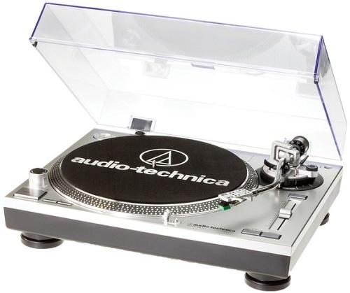 Купить Проигрыватель виниловых дисков Audio-Technica, LP120BK-USBHS10