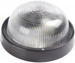 Светильник Iek НПП2602А, 60 Вт, круг без решетки, черный (LNPP0-2602A-1-060-K02)