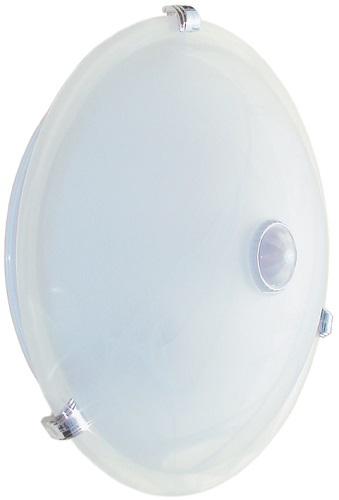 Все для дома Светильник Iek Нпо3231Д С Датчиком Движения, 2Х25 Вт, Белый (Lnpo0-3231D-2-025-K01) Белый
