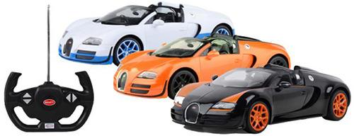Купить Машина радиоуправляемая Rastar, Bugatti Grand Sport Vitesse, цвет в...