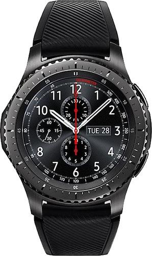 Купить Умные часы Samsung, Gear S3 Frontier (SM-R760NDAASER)