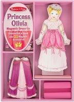 Магнитная игра Melissa&Doug Одень принцессу Оливию (5908)