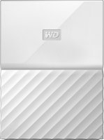 Внешний жесткий диск Western Digital My Passport 1Tb White (WDBBEX0010BWT-EEUE)