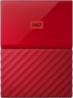 Внешний жесткий диск Western Digital My Passport 1Tb Red (WDBBEX0010BRD-EEUE)