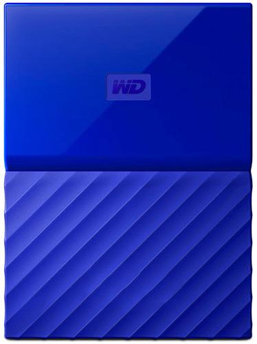Купить Внешний жесткий диск Western Digital, My Passport 1Tb Blue (WDBBEX0010BBL-EEUE)