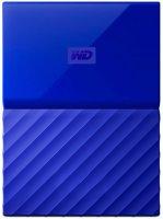 Внешний жесткий диск Western Digital My Passport 1Tb Blue (WDBBEX0010BBL-EEUE)