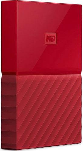 Купить Внешний жесткий диск Western Digital, My Passport 2Tb Red (WDBUAX0020BRD-EEUE)