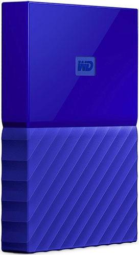 Купить Внешний жесткий диск Western Digital, My Passport 2Tb Blue (WDBUAX0020BBL-EEUE)