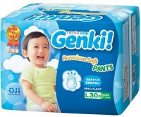 Трусики-подгузники Nepia Premium Soft Pants, L 9-14 кг, 30 шт (542645)