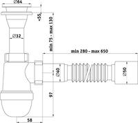 Сифон для раковины Ани-Пласт