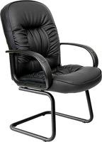 Кресло Chairman 416V Эко, Черный глянец (6006817) фото