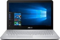 "Ноутбук ASUS VivoBook Pro N552VX-FW168T  (Intel Core i7-6700U 2.6GHz/15.6""/1920x1080/8Gb/1Tb/NVIDIA GeForce GTX 950M/DVD-RW/Wi-Fi/Bluetooth/Win 10)"