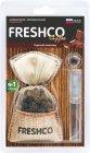 """Ароматизатор для автомобиля Freshco Coffee CF-02 """"Горячий шоколад"""""""