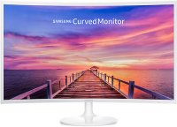 Монитор Samsung C32F391FWI Glossy White