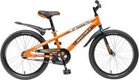 Купить Велосипед Novatrack, Juster 20 (2016), защита А-тип, оранжевый (203JUSTER.OR5)