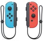 Набор контроллеров Nintendo Switch Joy-Con, 2 шт, неоновый красный/неоновый синий (2510166)