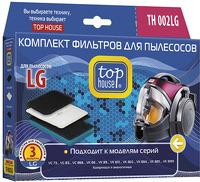 Набор фильтров Top House TH 002LG для пылесосов LG, 3 шт.