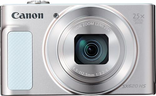Купить Цифровой фотоаппарат Canon, PowerShot SX620 HS White (1074C002AA)