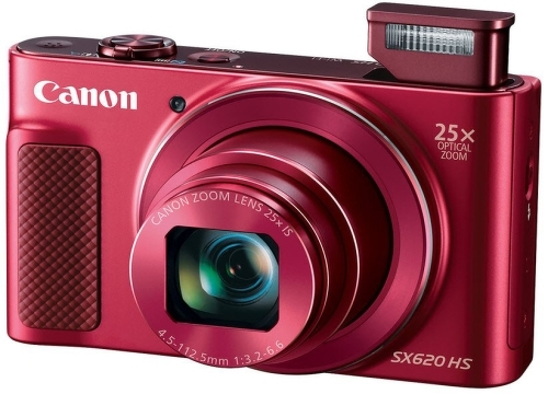 Купить Цифровой фотоаппарат Canon, PowerShot SX620 HS Red (1073C002AA)