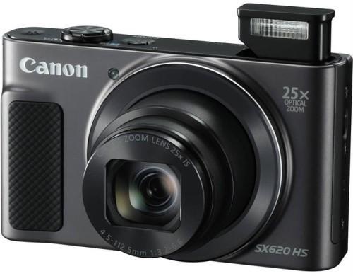 Купить Цифровой фотоаппарат Canon, PowerShot SX620 HS Black (1072C002AA)