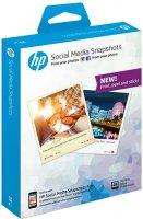 Фотобумага HP Social Media Snapshots, 25 листов, 10 x 13 см (W2G60A)