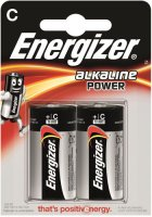 Батарейки Energizer C/LR14, 2 шт (E300152100)