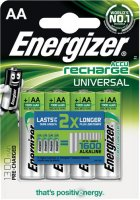 Аккумуляторы Energizer Universal NH15/AA, 4 шт (E300322100)
