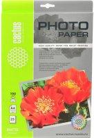 Фотобумага Cactus A4, 190г/м2, 25 л (CS-MA419025)