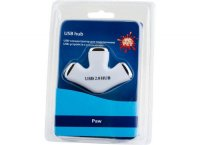 USB-концентратор Pc Pet Paw USB 2.0 3-port