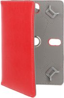 """Универсальный чехол для планшета Red Line 7"""", с поворотным механизмом, красный (УТ000007426)"""