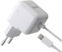 Купить Сетевое зарядное устройство Untamo, Unergy Lightning MFI 2.1А, белый (UUNW8P2.1AWH)