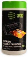 Чистящие салфетки Cactus CS-T1002, 100 шт