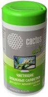 Чистящие салфетки Cactus CS-T1001E, 100 шт