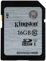 KINGSTON SDHC 16GB CLASS10 UHS-I (SD10VG2/16GB)