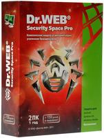 Купить Антивирус Dr.Web, Security Space 2ПК/1Г (BHW-B-12M-2-A3)