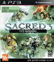 Игра для PS3 Deep Silver Sacred 3: Гнев Малахима