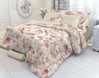 Комплект постельного белья Verossa Константе Magnolia, перкаль, евро (707026)