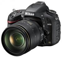 Зеркальный фотоаппарат Nikon D610 24-120mm f/4G ED VR Kit фото