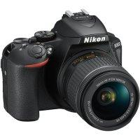 Зеркальный фотоаппарат Nikon D5600 + AF-P DX 18-55 VR (VBA500K001)