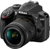 Зеркальный фотоаппарат Nikon D3400 + AF-P DX 18-55 (VBA490K002)