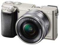 Системный фотоаппарат Sony Alpha A6000 Kit 16-50 Silver фото