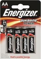 Батарейки Energizer Alkaline Power LR6 (AA), 6 шт