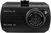 Автомобильный видеорегистратор Digma FreeDrive 105 Black