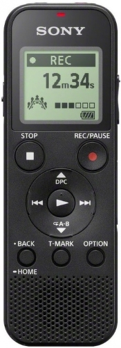 Купить Диктофон Sony, ICD-PX370 Black
