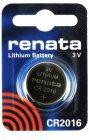 Батарейки Renata CR2016-10BL, 10 шт