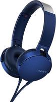 Наушники с микрофоном Sony MDR-XB550AP Blue