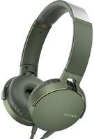 Наушники с микрофоном Sony MDR-XB550AP Green